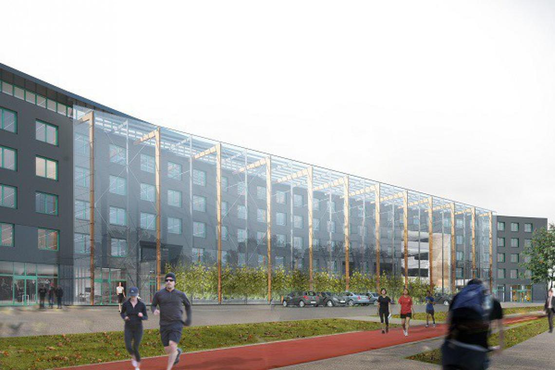 HRA Architekci odnowią warszawski Adgar Park West
