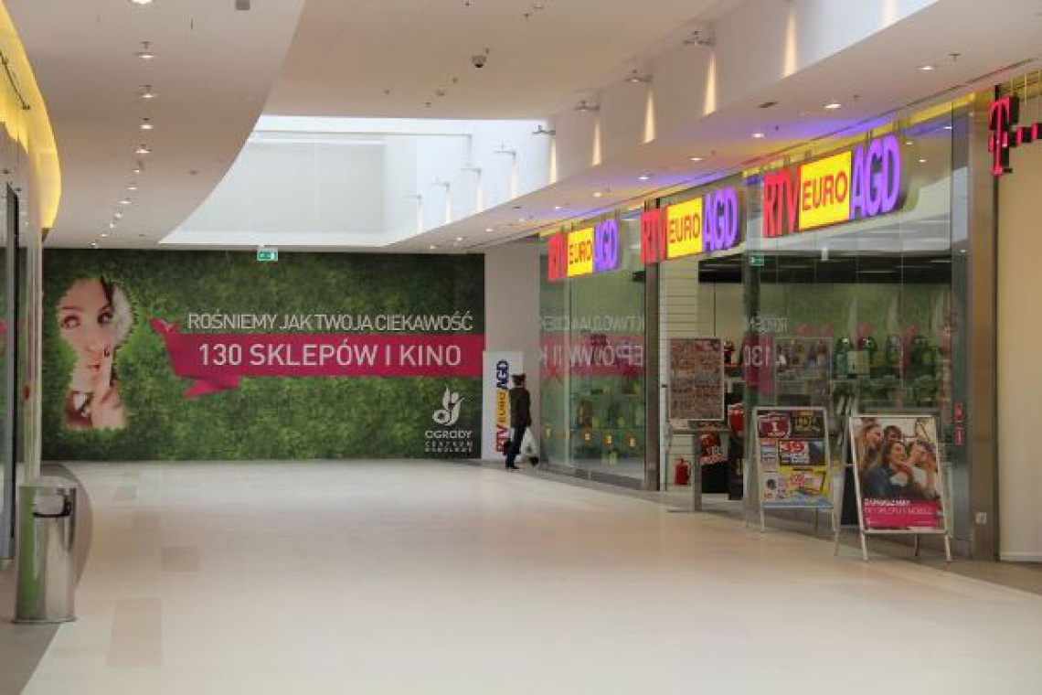 Centrum Handlowe Ogrody jako punkt rozpoznawczy
