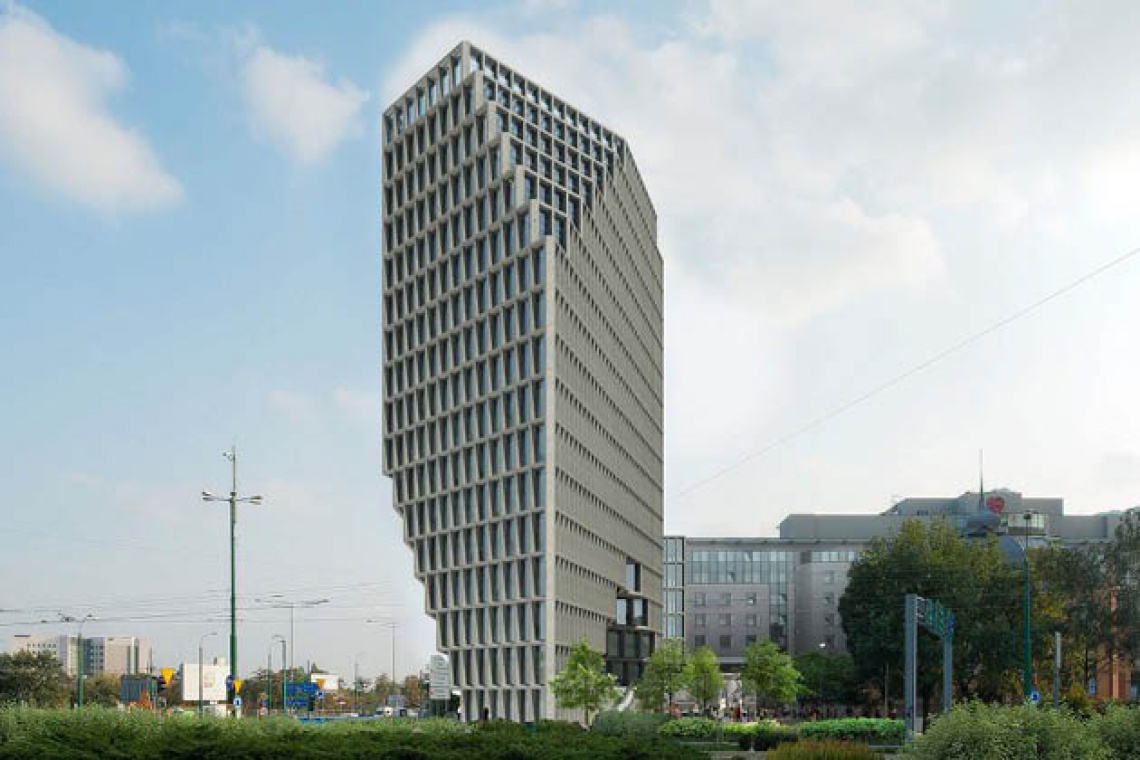 Poznań: Budynek Bałtyk rodem z Rotterdamu