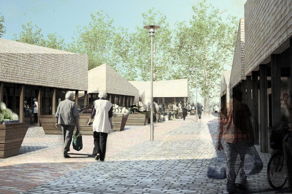 Wimar z formą sprawdzonej architektury na Zielonym Rynku