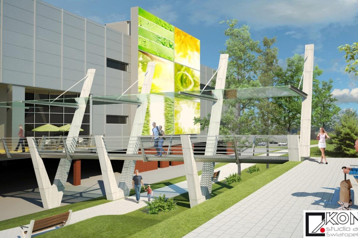 Naturalna Galeria Manhattan w Gorzowie zaprojektowana przez Kontur