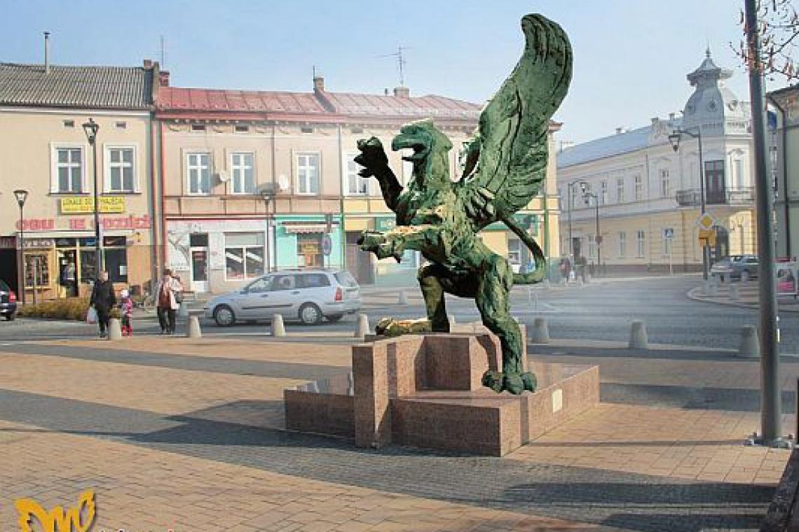 Gryf krakowskich artystów odmieni mielecki Rynek
