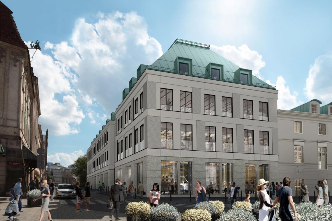 Kontrowersyjny projekt biurowca przy Placu Zamkowym – Business with Heritage
