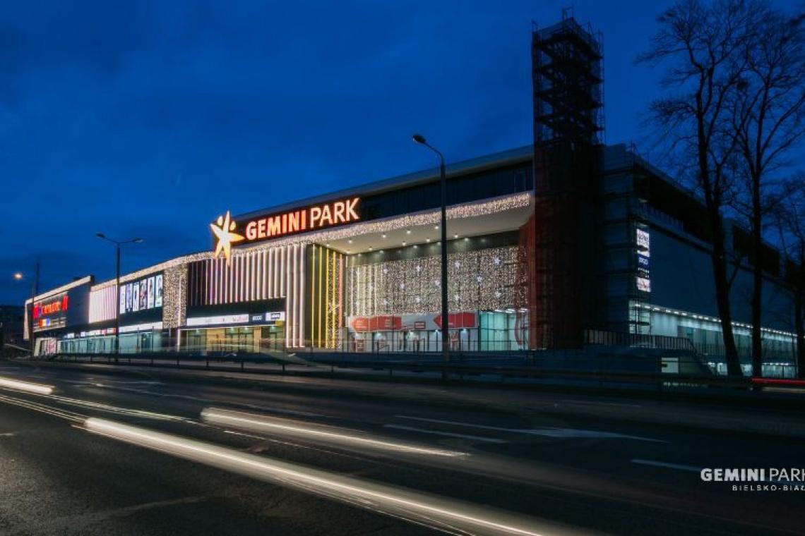 Projekt rozbudowy Gemini Park Bielsko-Biała od Vide Studio na finiszu