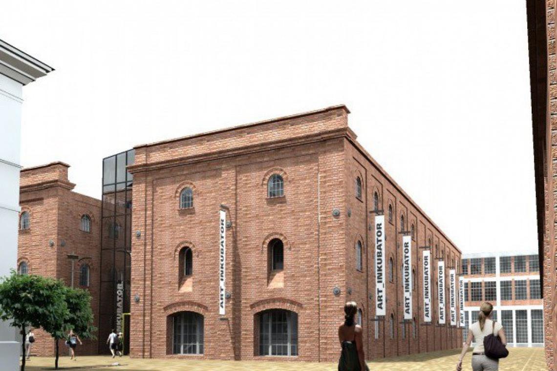 Biura, galerie i pracownie artystyczne w projekcie Art_Inkubator