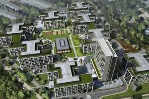 Projekt Business Garden Wrocław z certyfikatem LEED Gold