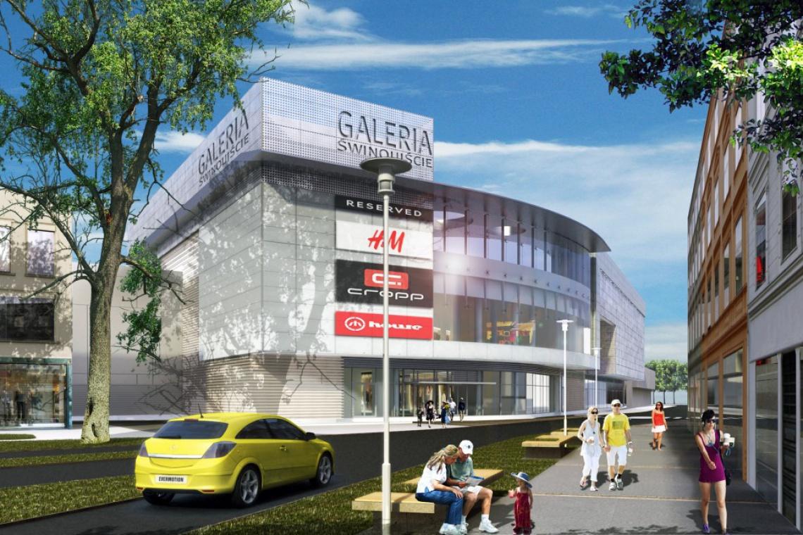 Calbud ruszył z budową Galerii Świnoujście według projektu FBA