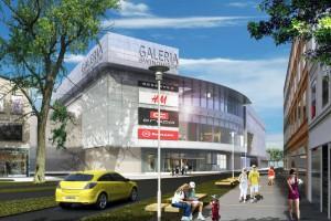 Galeria Świnoujście według projektu FBA zgodnie z planem