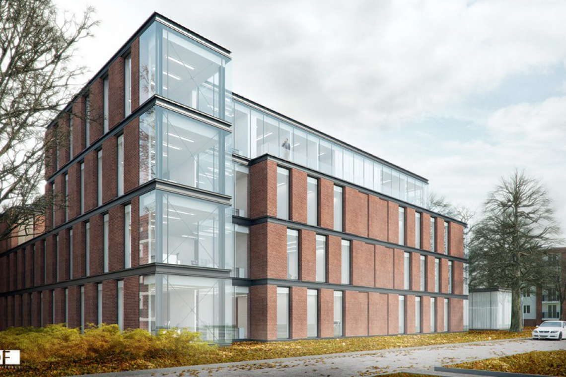 CDF Architekci zaprojektowali i budują Ubiq Business Park w Poznaniu
