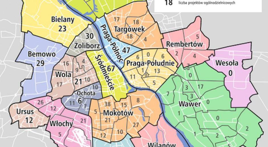 Warszawa: wybierz najlepsze projekty obywatelskie