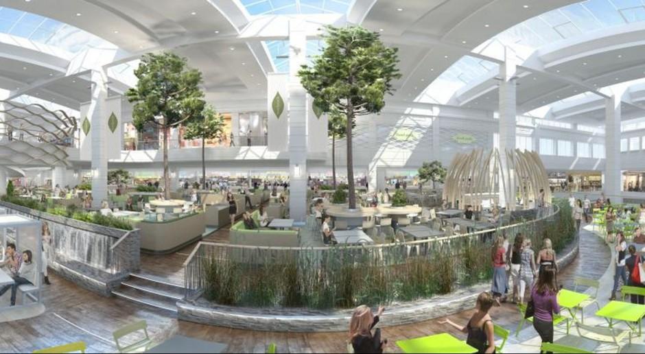 Centrum handlowe Arkadia powiększa strefę gastronomiczną