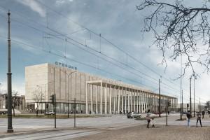 Jest nowa koncepcja architektoniczna dawnego hotelu Cracovia