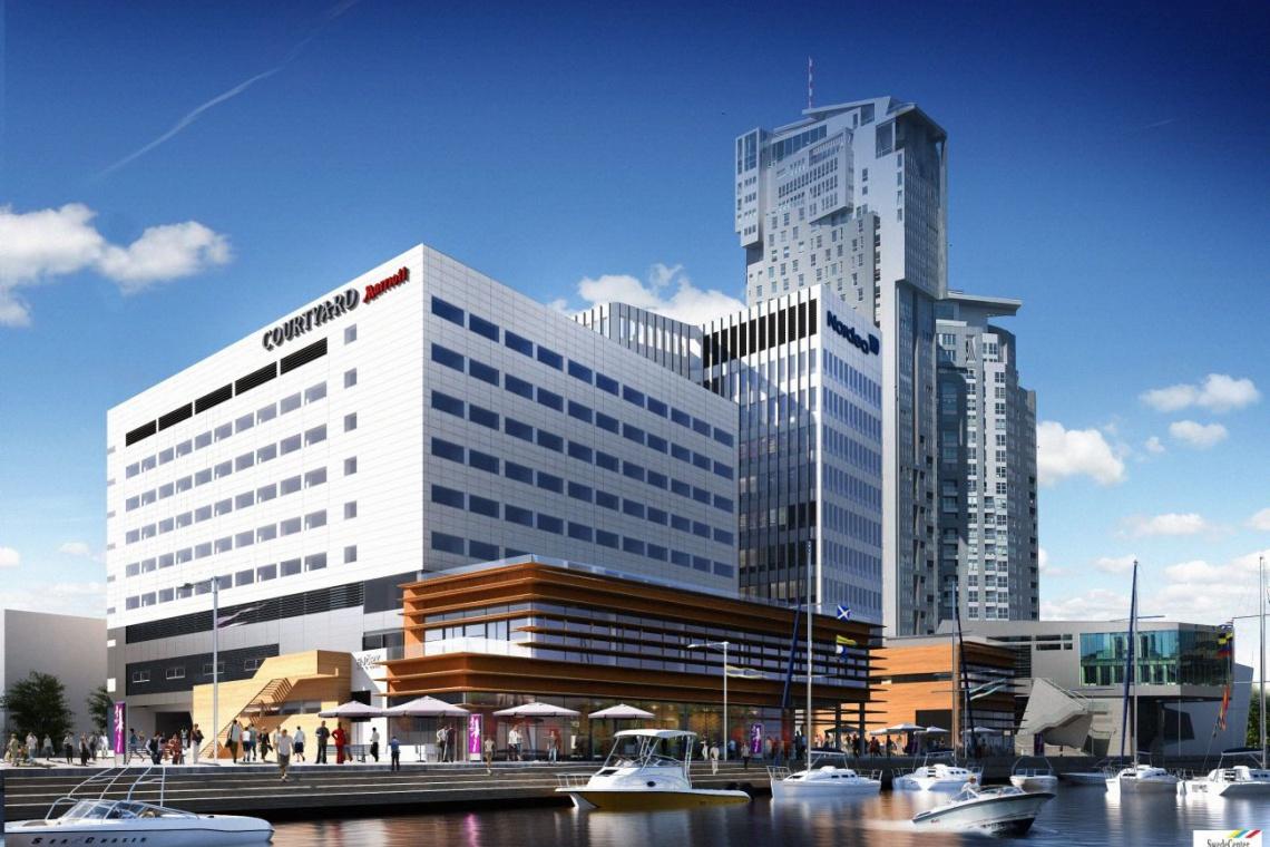 Co słychać na budowie Waterfront Gdynia projektu FORT