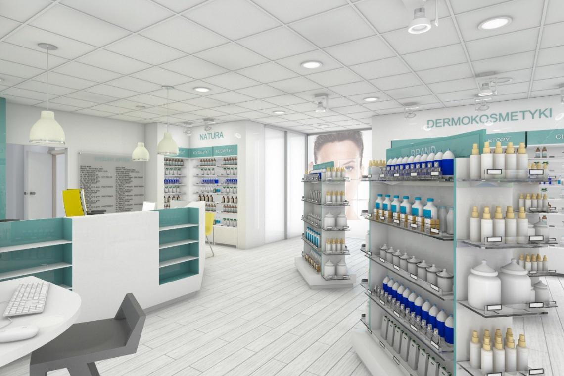 Drogerie i apteki stawiają na ekspozycję, kolorystykę i przestrzeń
