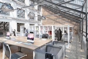 Modernizacja biurowca LPP według Studia 1:1