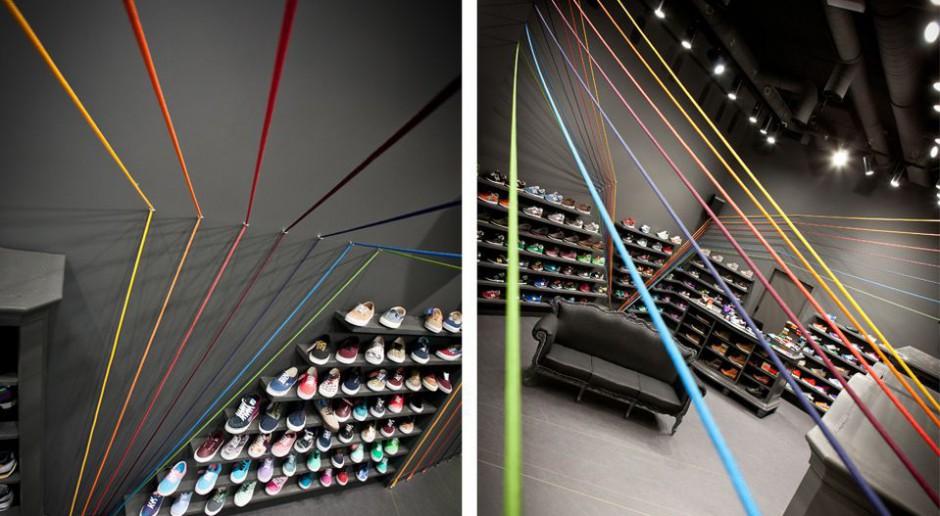Design dla biegnących kolorów
