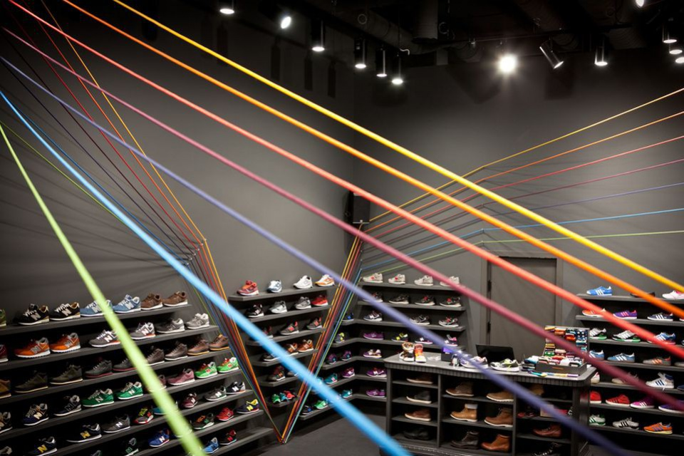 Design dla biegnących kolorów, czyli projekt mode:liny w Starym Browarze