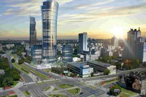 Warsaw Spire pierwszym w Polsce budynkiem z piętrowymi windami