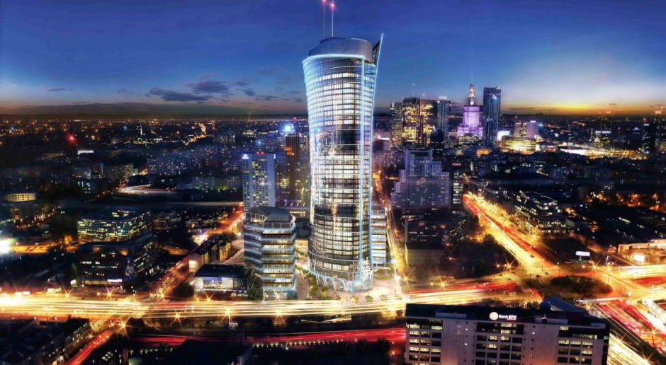 BREEAM Excellent dla projektu Warsaw Spire
