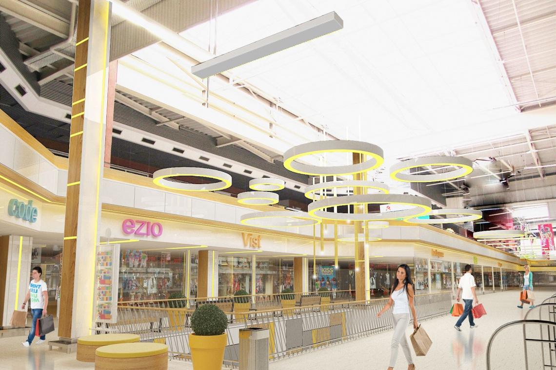 Remodeling Centrum Handlowego Auchan w Katowicach