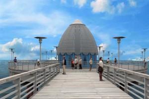 Nowa wizja molo z hotelem i centrum handlowym w Międzyzdrojach