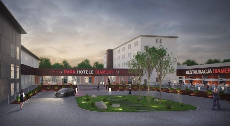 BB Architekci odpowiedzialni za Park Hotel Diament Zabrze