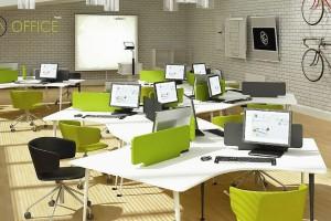 Modułowe meble biurowe od ATEPAA
