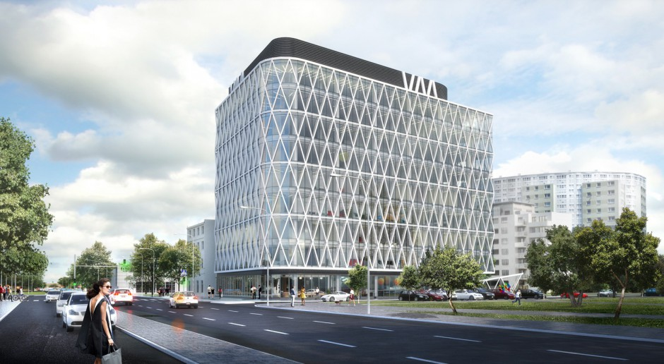Villa Metro - biurowiec od Dziuba Architekci