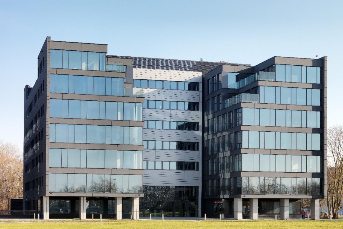 Biurowiec Corius w Aeropark Business Centre z certyfikatem LEED