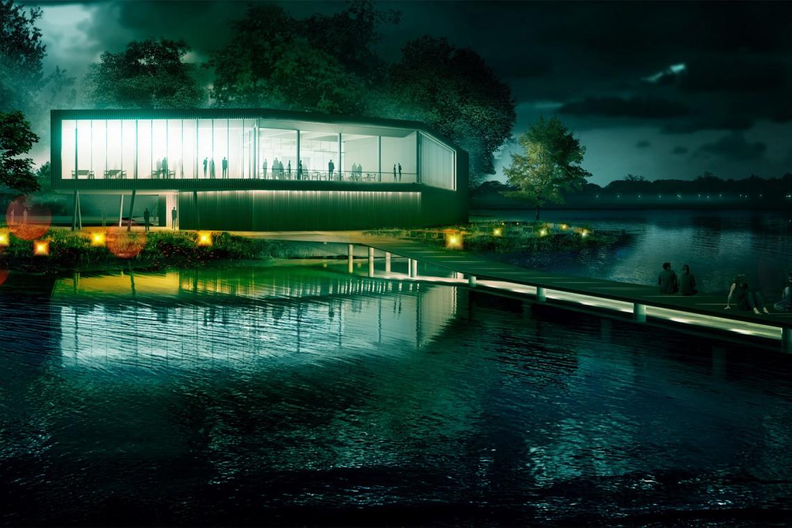 Nowoczesny projekt ośrodka sportowego