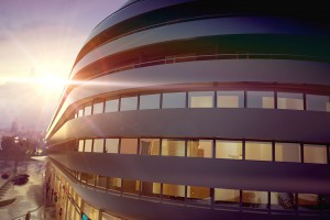 OVO z Corianu zainspirowane blobitekturą - wreszcie startuje