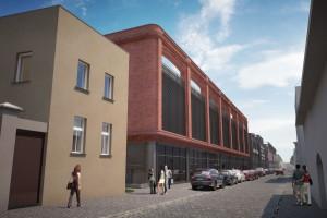 Inspiracją dla projektu dawna fabryka czekolady
