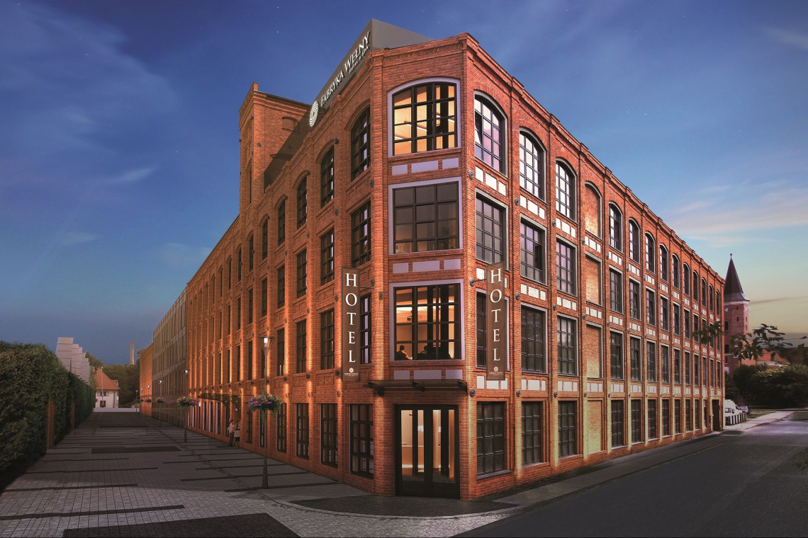 Hotel, który powstał w fabryce tkanin