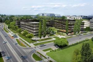 Neopark spod kreski JEMS Architekci z pozwoleniem na budowę