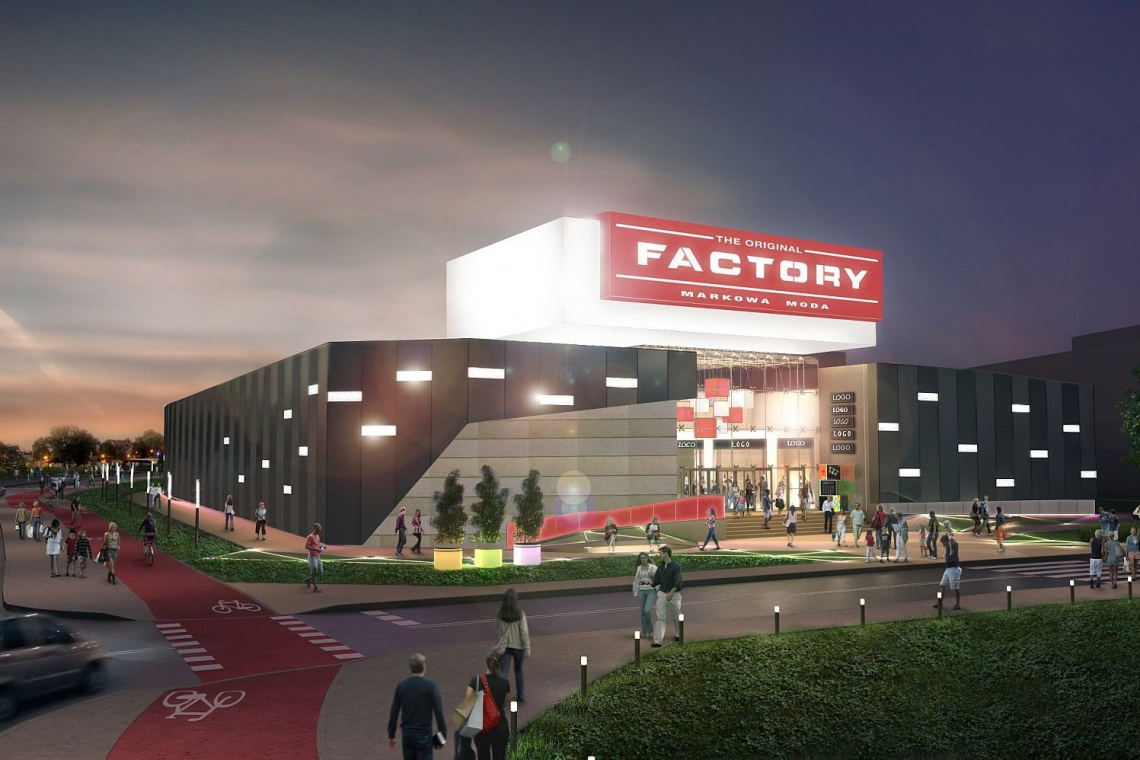 Factory zyska nowy design