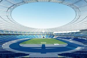 Stadion Śląski na finiszu