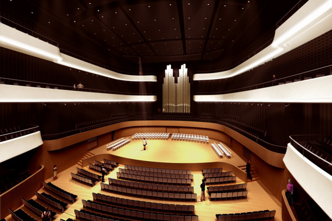 Przed Narodowym Forum Muzyki stanie rzeźba Eurydyki
