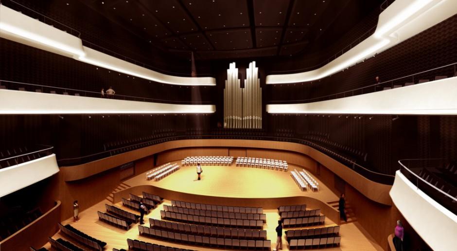 Tateo Nakujima z Arup pracuje nad akustyką Narodowego Forum Muzyki