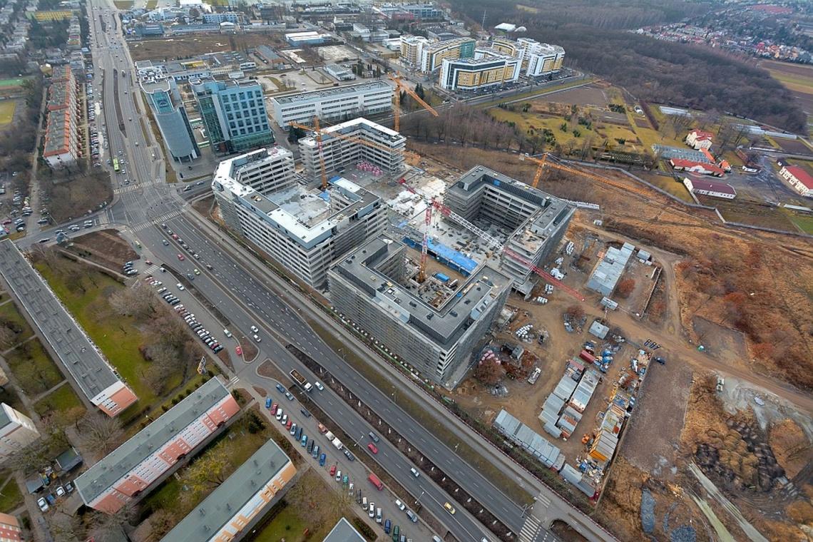 Business Garden Poznań nabiera kształtu