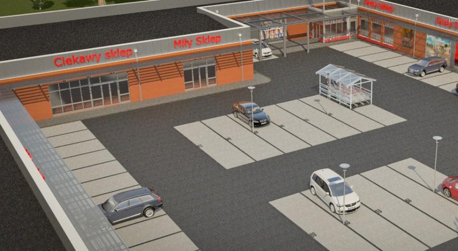 Nowe centrum handlowe w Sławnie według wizji AOS