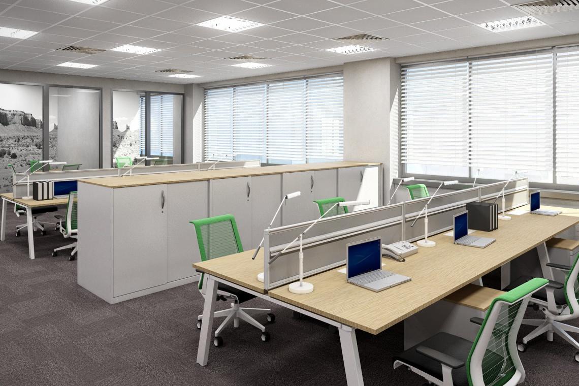 Ergonomia, elastyczność i kreatywność - biuro 3M