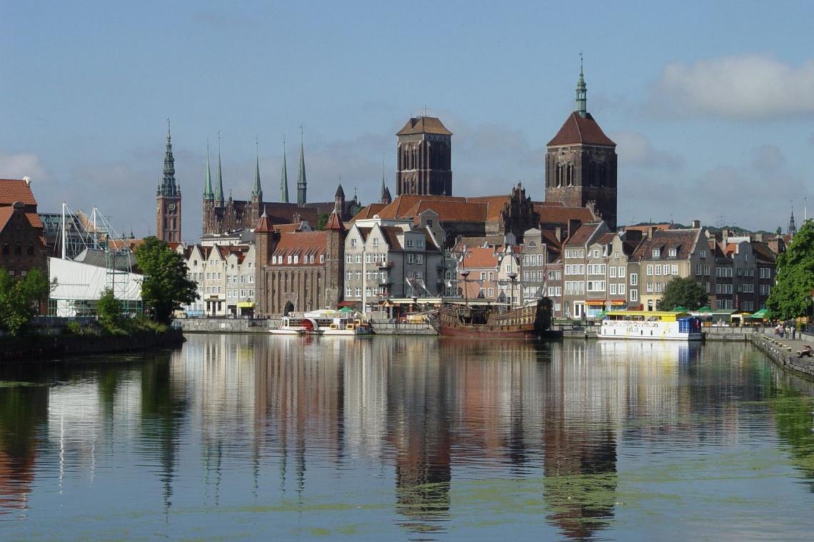 Gdańsk wypięknieje latem - koniec rewitalizacji Dolnego Miasta