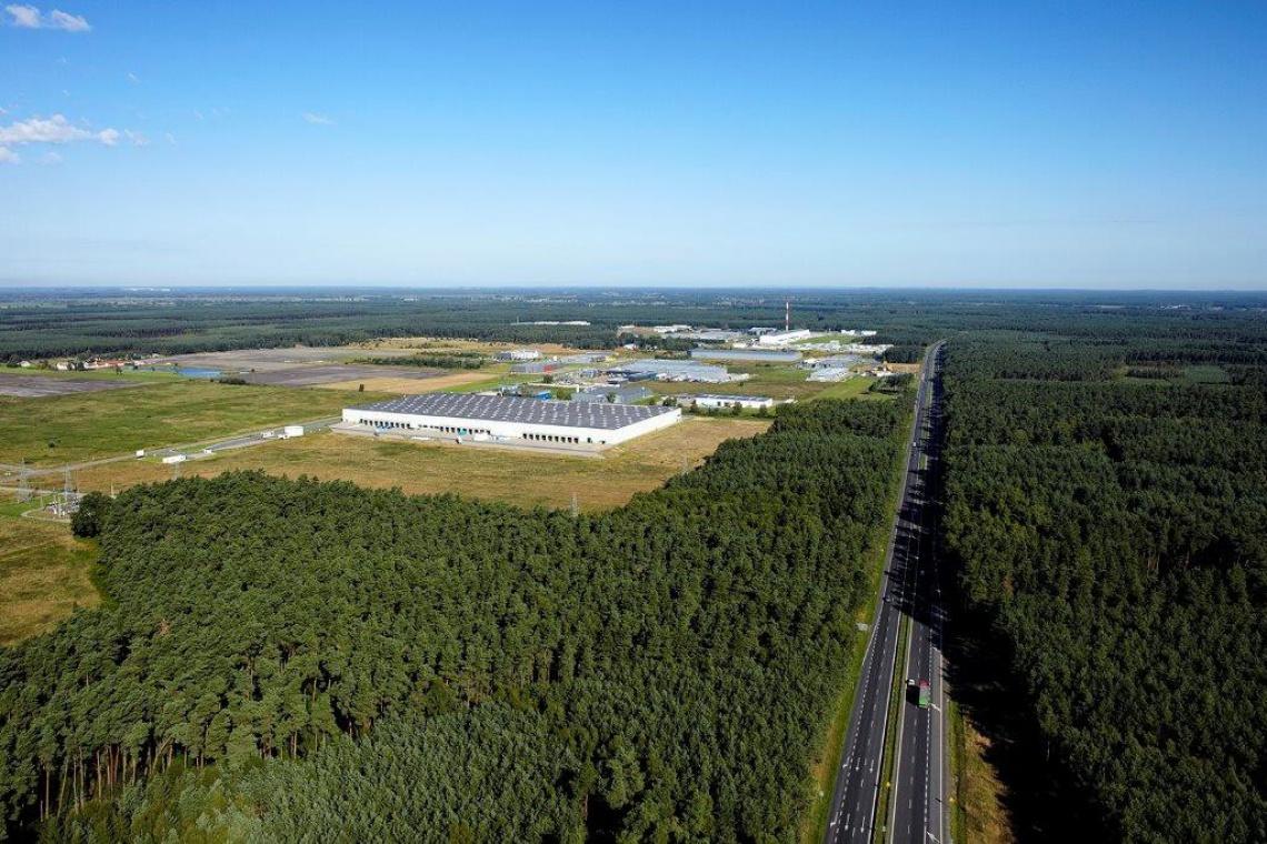 Według projektu AMF powiększony zostanie park logistyczny Prologis