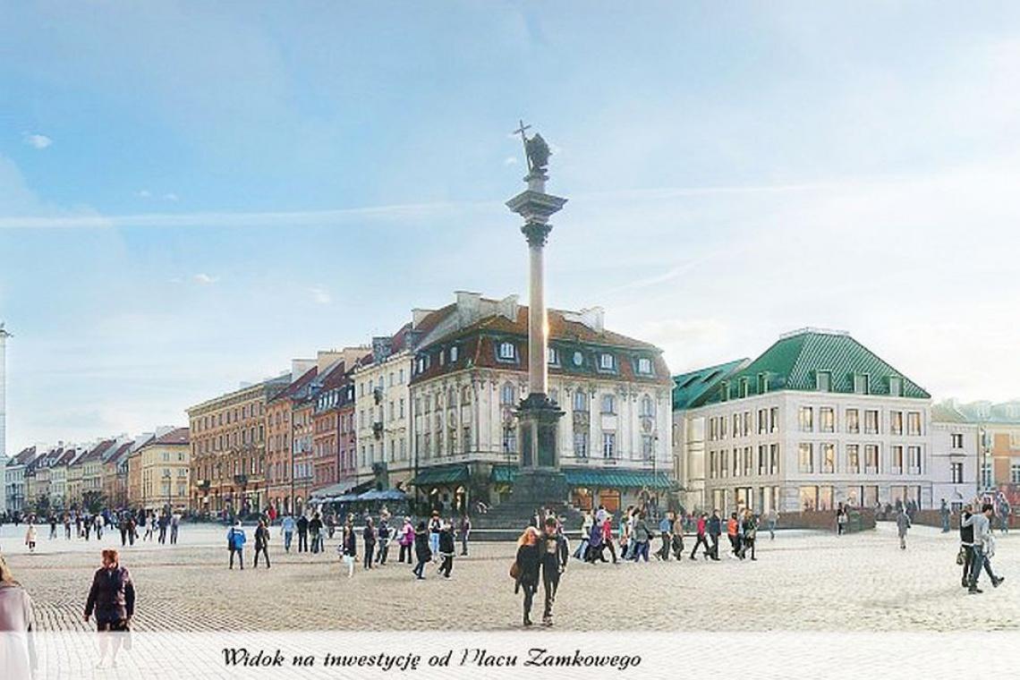 UNESCO: Trzeba zmienić projekt biurowca przy Placu Zamkowym