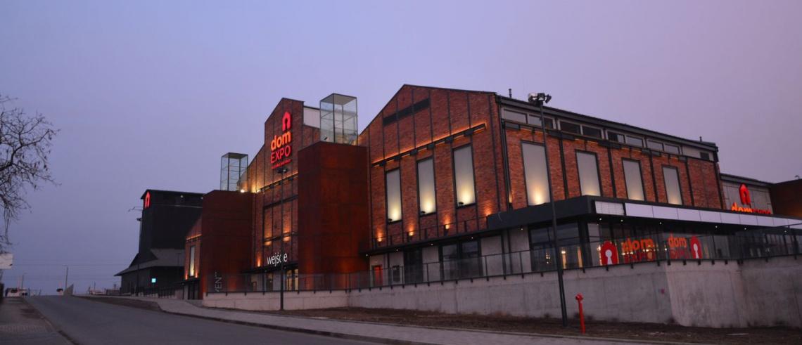 Industrialny charakter i szczerość - domExpo już gotowy