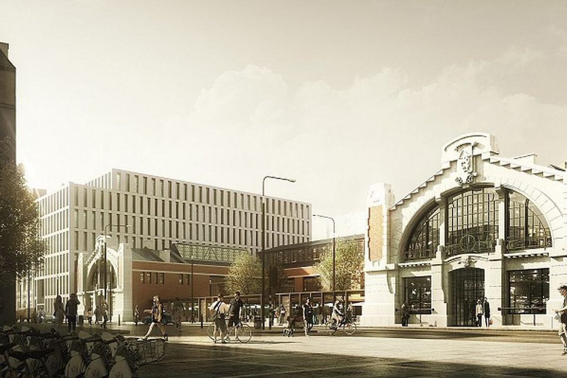 Budowa Hali Koszyki rozpocznie się jeszcze w tym miesiącu