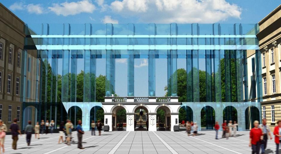 Nowoczesny Pałac Saski - wizja FAAB Architekci