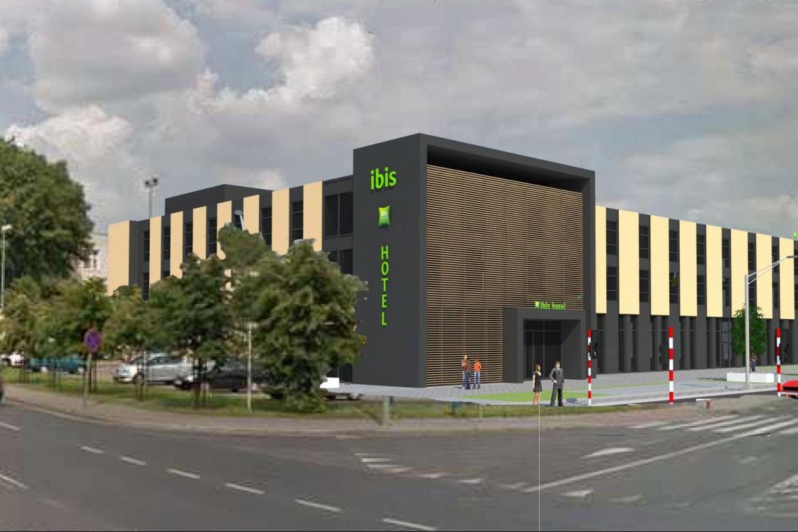 Krzysztof Polkowski Architektura nadało kolorytu Ibisowi w Grudziądzu