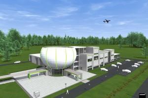 BioNanoPark i jego kosmiczna architektura