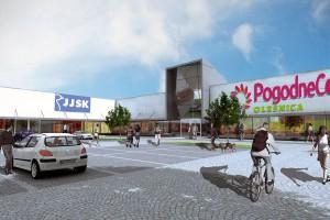 Pogodne Centrum według projektu pracowni B.P. Niebudek